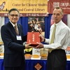 President Yun-han Chu Attended the AAS Annual Conference and Presided over a Book Donation Ceremony in Chicago