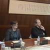 Dr. Matthias Kaun (Director, East Asia Division, Staatsbibliothek zu Berlin) and Prof. Hilde De Weerdt (Leiden University) Visited the Foundation