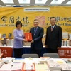 President Yun-han Chu Attended the AAS Annual Meeting and Presided over a Book Donation Ceremony in Seattle