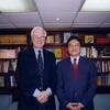 Free University of Berlin President Peter Gaehtgens visited the Foundation