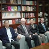 Charles University Rector Ivan Wilhelm visited the Foundation