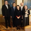 President Yun-han Chu Visited Charles University in Prague
