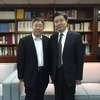 Dean Zhang Yi of the Chinese Academy of Social Science's Academy of Social Development Visited the Foundation, and was received by Vice-President Chun-i Chen