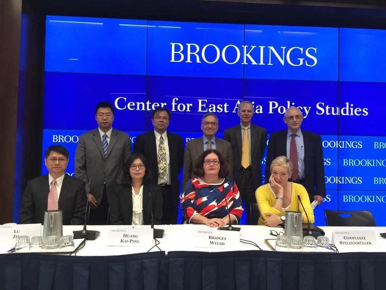 20160929朱雲漢執行長出席布魯金斯學會(Brookings Institution)「東亞軟實力競爭」研討會發表演講