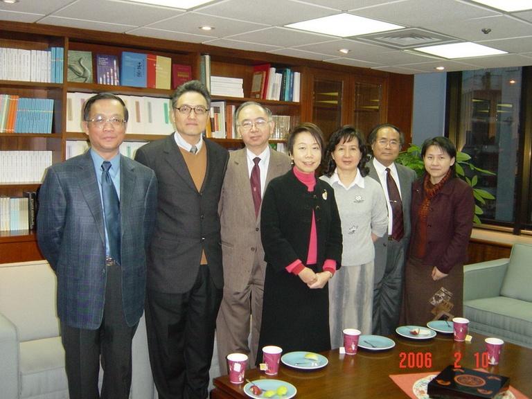20060210本會促成「古漢籍善本數位化資料庫國際合作建置計畫」