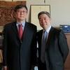 陳純一副執行長拜會美國國會圖書館亞洲部邵東方主任