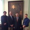 朱雲漢執行長赴紐約參訪羅斯福總統圖書館