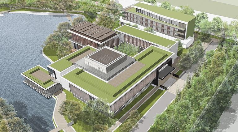 蔣經國圖書館主建築群
