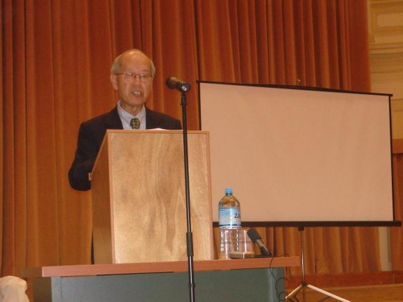 歐洲漢學學會雙年會,郭為藩董事發表演說