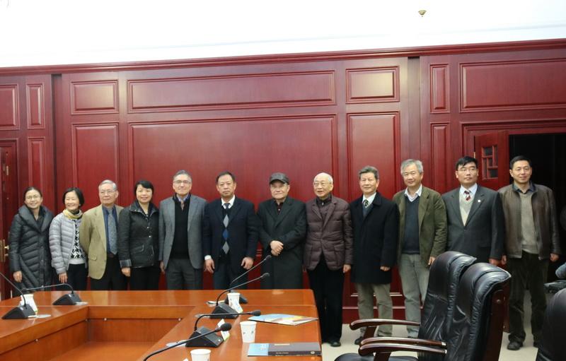 朱執行長雲漢赴武漢大學參訪