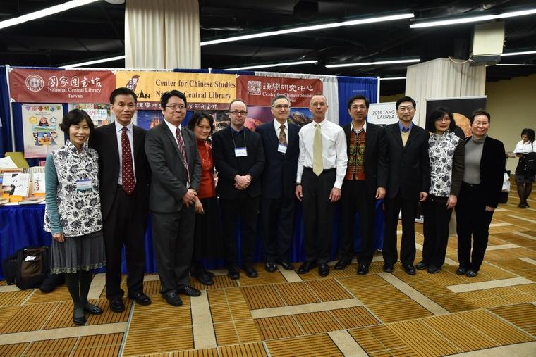 2015朱執行長雲漢赴芝加哥出席亞洲研究學會年會並主持贈書儀式