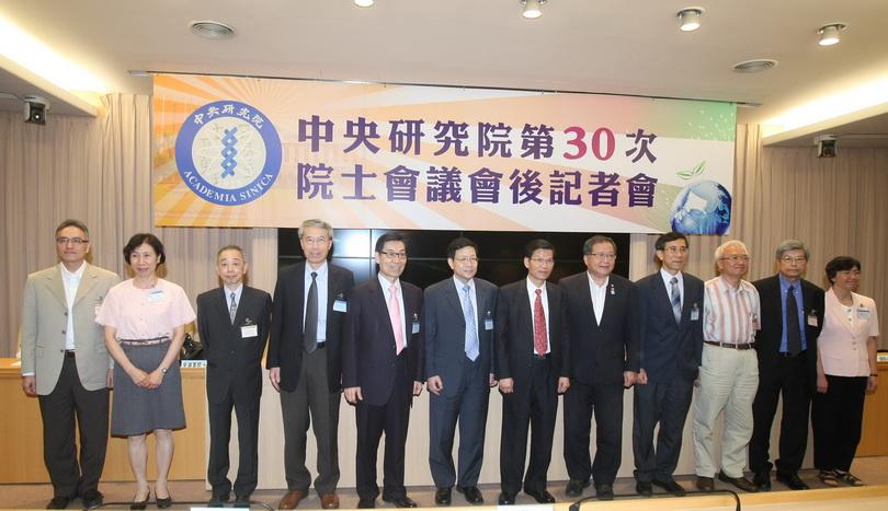 2012朱雲漢執行長當選中央研究院院士