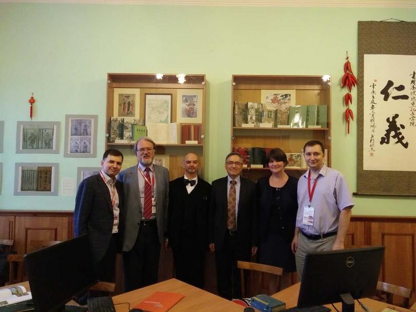2016朱執行長雲漢拜訪俄羅斯聖彼得堡大學