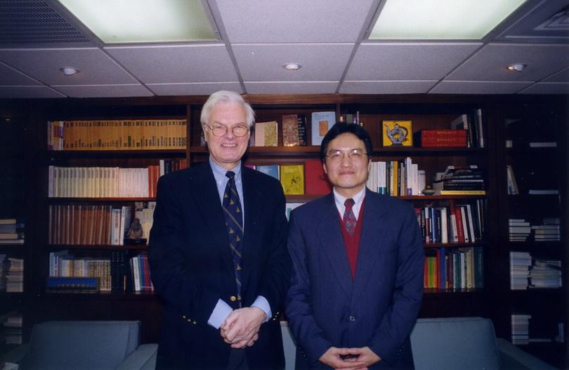 20010313德國柏林自由大學校長Peter Gaehtgens博士來訪