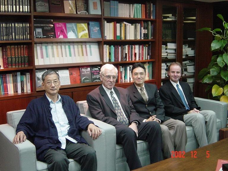 20021205捷克查理斯大學校長Ivan Wilhelm博士來訪