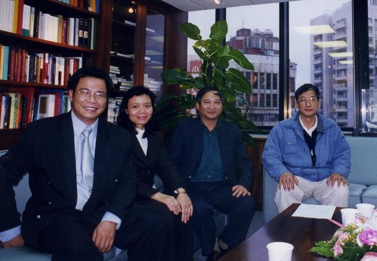 20030312越南國家人文與社會科學中心學者來訪