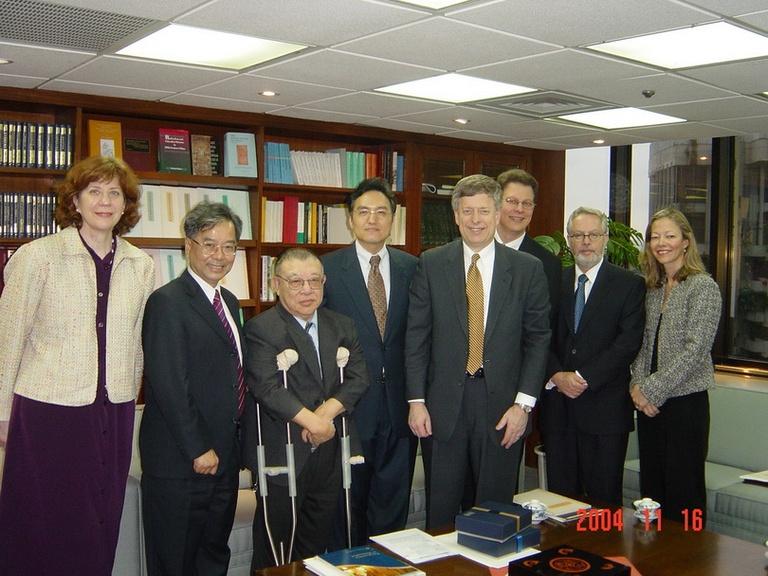 20041116美國匹茲堡大學校長Mark Nordenberg博士來訪