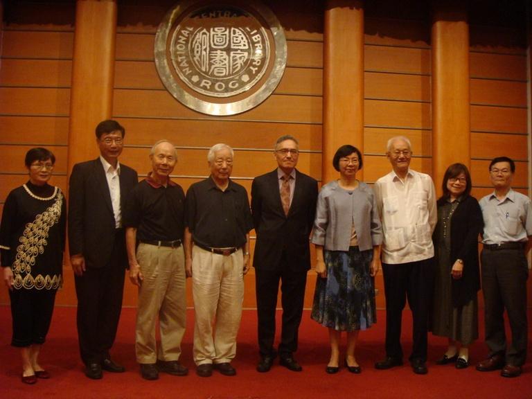 2016朱雲漢執行長應趙麗蓮教授文教基金會與國家圖書館之邀發表演說