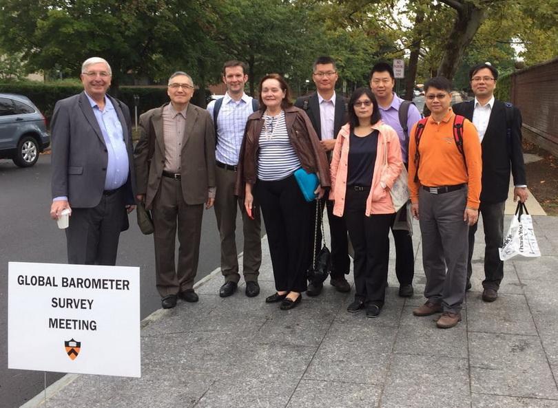 2016朱雲漢執行長赴美國普林斯敦大學出席全球動態調查工作會議