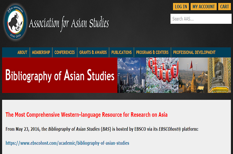 Bibliography of Asian Studies Online